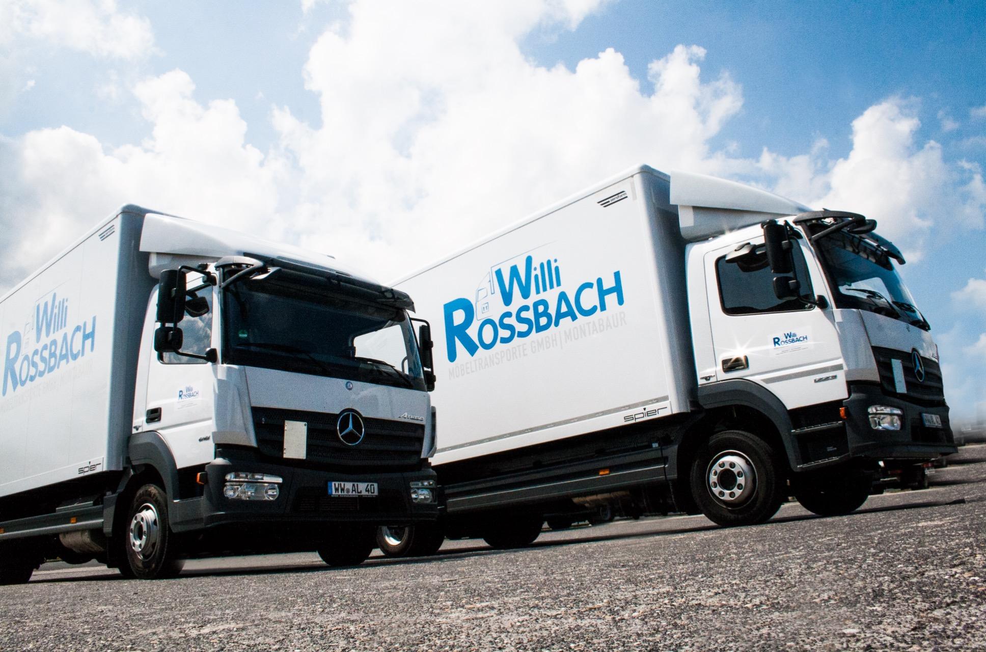 Leistungen - Willi Rossbach Moebeltransporte GmbH